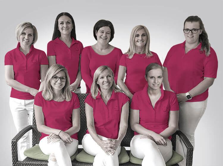 Team - Zahnarzt Praxis Flachau - Dr. Andrea Aufmesser